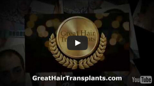 Dr. Brett Bolton Great Hair Transplants it is what we do.