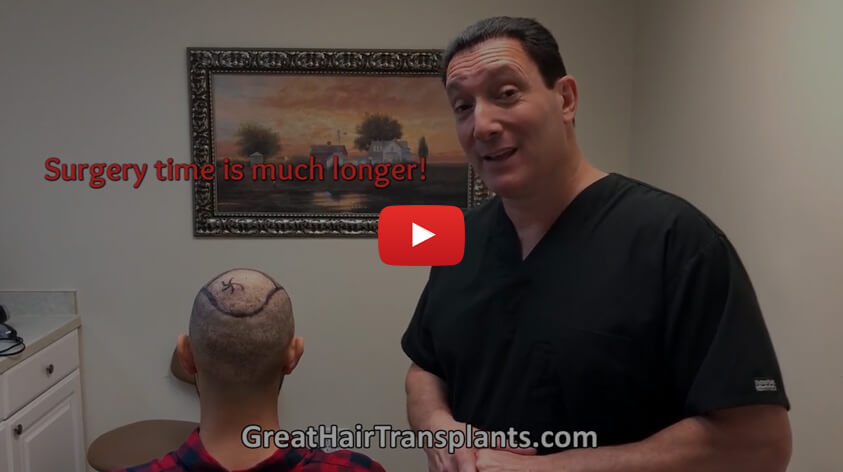 Must Watch Video for Patients Seeking a FUE / Failed FUE Turkey / correction by Dr. Brett Bolton