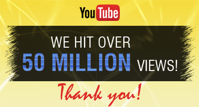 Youtube 50 millon views
